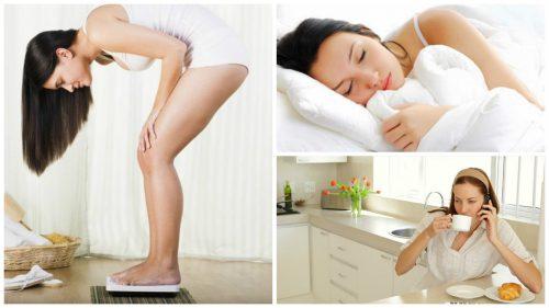 Ochtendgewoontes Gewichtstoename