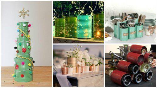 19 creatieve manieren om blikjes te recyclen