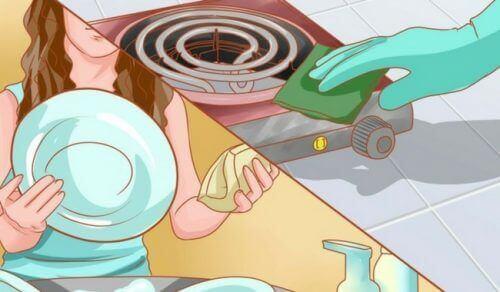 Waarom je je huis niet te schoon moet maken