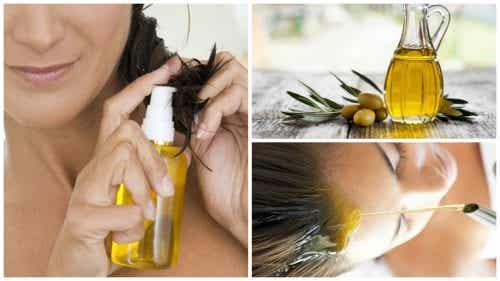 6 manieren om je haren er beter uit te laten zien met olijfolie