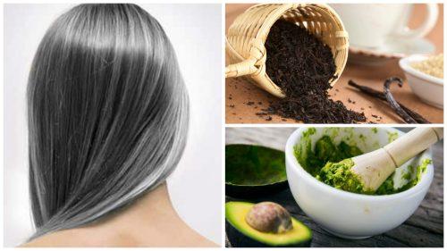 Verminder vroegtijdige grijze haren met deze 6 behandelingen