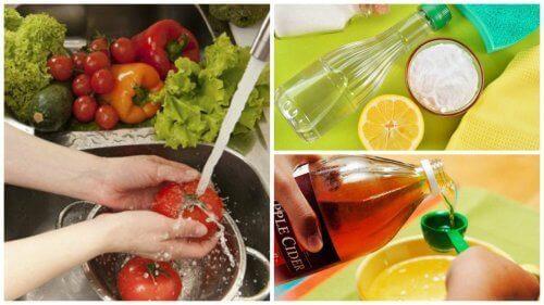 Hoe kan je fruit en groenten desinfecteren?