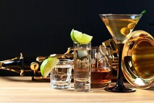Alcohol veroorzaakt lichaamsgeur