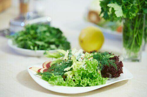 Voorverpakte salade