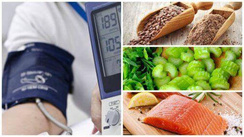 Zeven voedingsmiddelen om hypertensie onder controle te houden