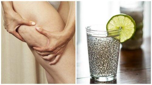 Geneeskrachtig drankje met lijnzaad om cellulite tegen te gaan