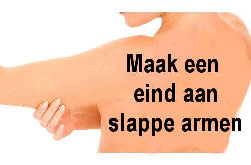 Maak een einde aan slappe armen