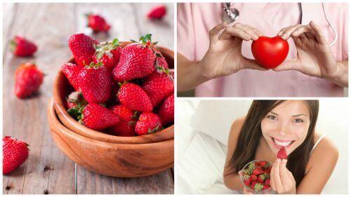 8 dingen die aardbeien doen voor je gezondheid