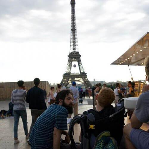 vriendschap in parijs