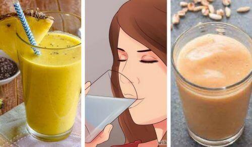 5 heerlijke veganistische smoothies, rijk aan eiwit en vezels