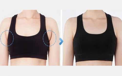 Tips voor het verminderen van vetrollen onder je armen