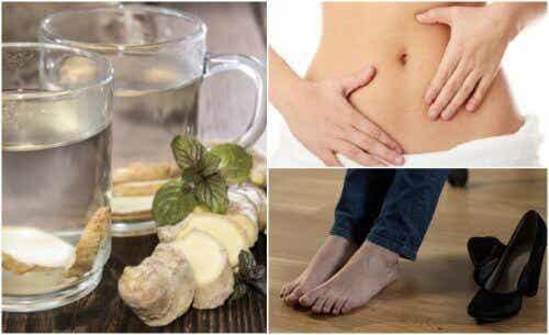 7 voordelen van gemberwater op een lege maag