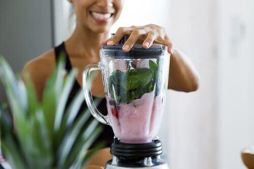 Voedzame veganistische smoothie