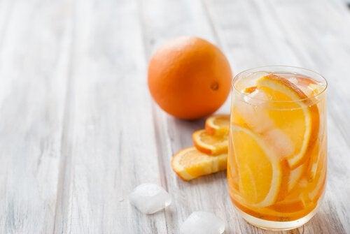 Sinaasappelwater