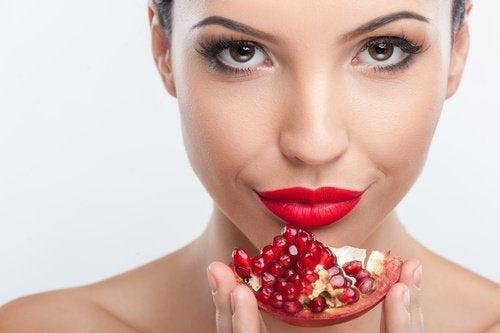 Je huid verbeteren met voeding