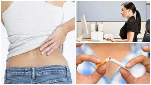9 natuurlijke manieren voor het verminderen van rugpijn