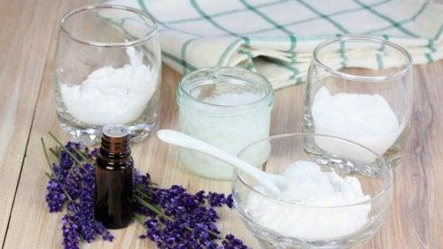 Ingrediënten voor droogshampoo