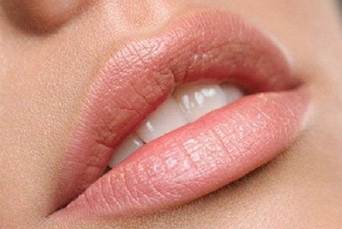 Zachte lippen door arganolie