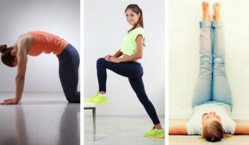 Negen oefeningen die je in negen minuten kunt doen om fit te blijven