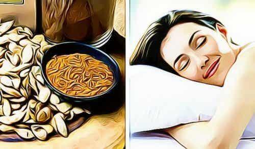 Ontdek hoe pompoenpitten je kunnen helpen om beter te slapen