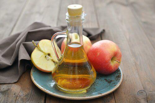 Psoriasisklachten verminderen met appelazijn