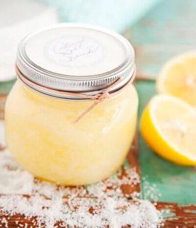 Deodorant met citrus en zout