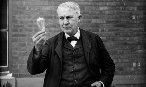 Thomas Edison is een van de succesvolle mensen die zich niet lieten tegenhouden door tegenslag