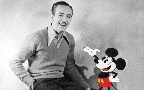Walt Disney is een van de succesvolle mensen die zich niet lieten tegenhouden door tegenslag