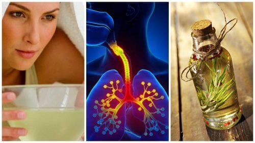 Houd de symptomen van bronchitis onder controle met deze remedies