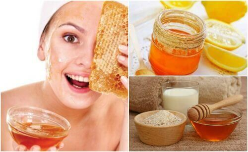 Gebruik een honingmasker om rimpels te verminderen