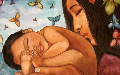 Moeders, laat je leiden door je instinct bij het opvoeden