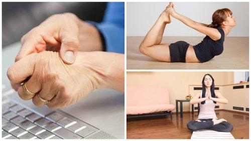 Pijn bij carpaletunnelsyndroom? Yoga helpt!