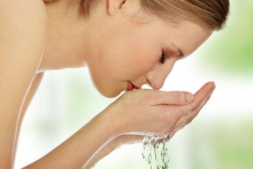 Gezicht wassen