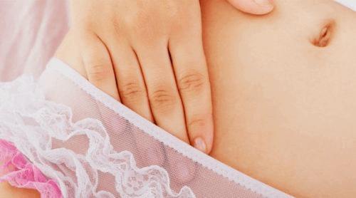 Hand in slip