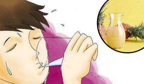 Maak zelf dit middeltje met ananasschil en herstel je darmflora