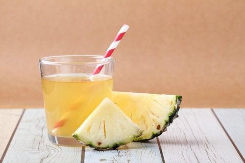 Ananasdrank voor de darmflora