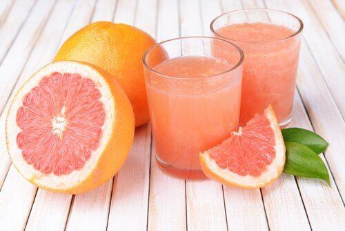 Je lever ontgiften met grapefruit