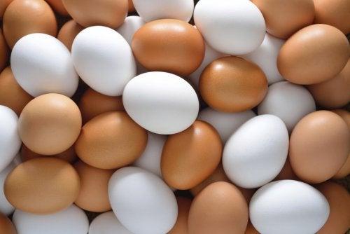 Eiwitrijke haarmaskers met eieren