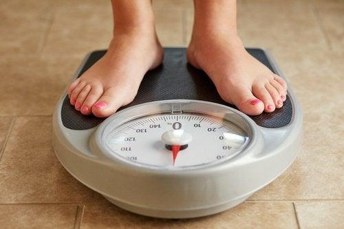 Blijf op gewicht