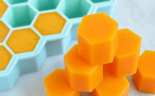 Honing Kurkuma Gelatine-Blokjes