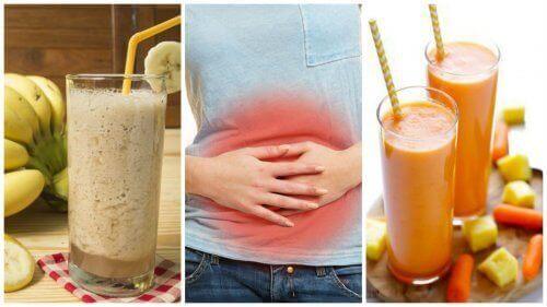 Vijf natuurlijke smoothies die de spijsvertering reguleren