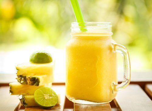 Verlies gewicht met ananas