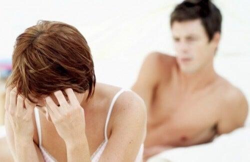 Problemen tijdens seks
