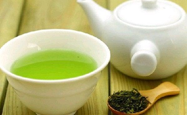 Verse groene thee
