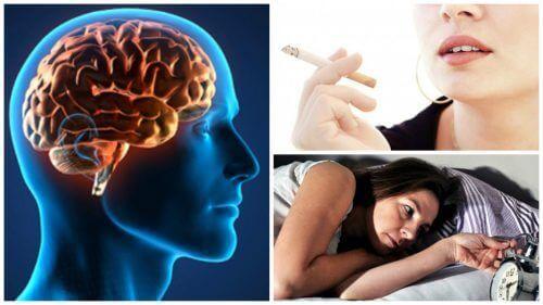 6 slechte gewoontes die invloed kunnen hebben op de gezondheid van je brein