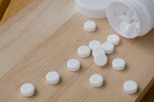 Aspirine te gebruiken bij insectenbeten