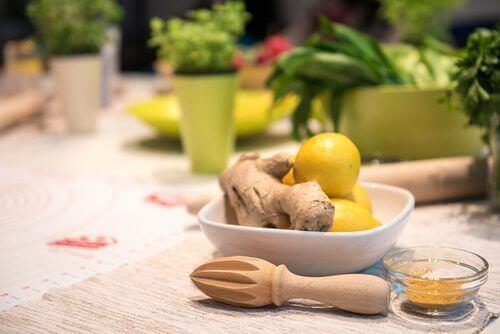 Gember en citroen