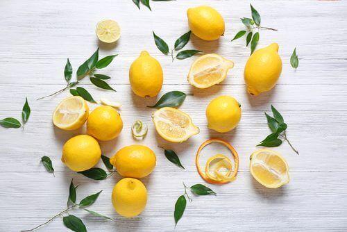 Littekens verminderen met citroen