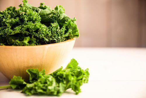 Boerenkool bevat vitamine E