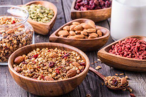 noten en zaden